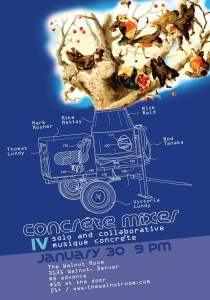 Concrete Mixer Poster